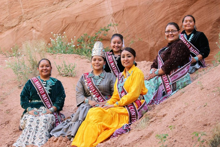 Miss Navajo Nation Contestants 2015