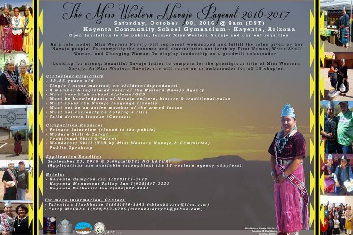 Miss Western Navajo Pageant