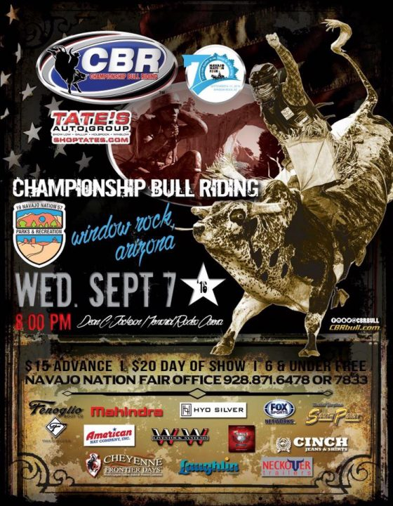 Championship Bull Riding Navajo Nation Fair