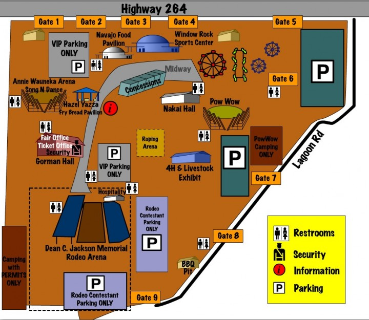 Navajo Nation Fair Map