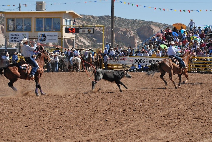 Senior Rodeo  Navajo Nation Fair