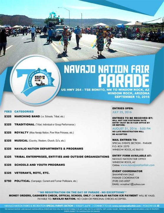 Navajo Nation Fair Parade