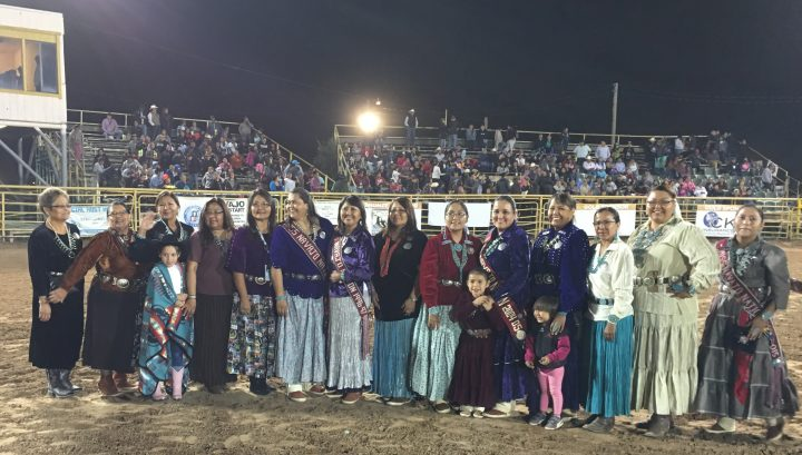 Miss Navajo Nation Pageant Past Winners