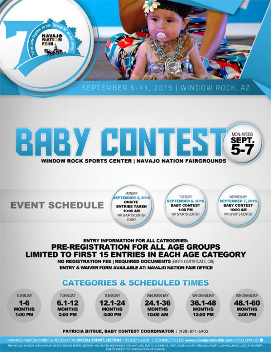 Navajo Nation Fair Baby Contest
