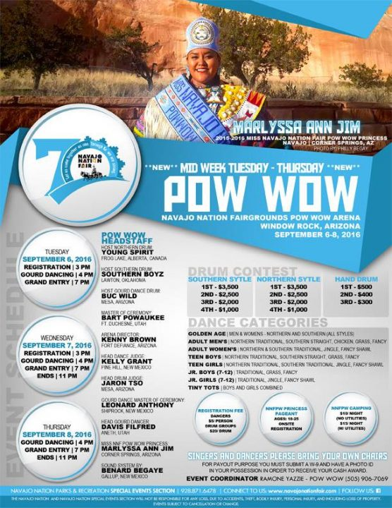 Pow Wow – Navajo Nation Fair 2016