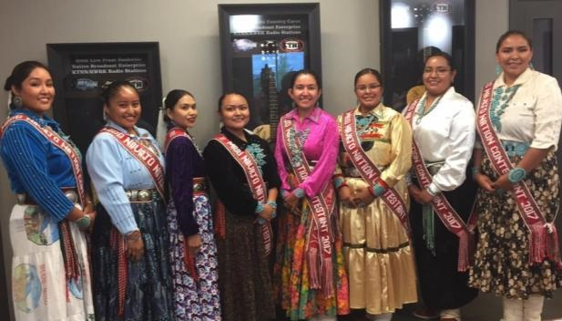 Miss Navajo Nation Pageant Contestants 2017