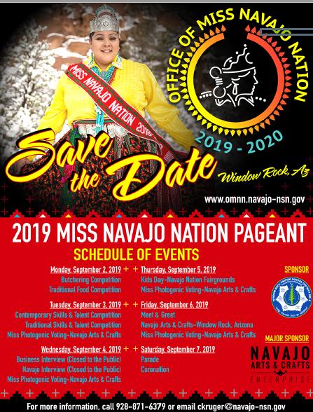 Northern Navajo Nation Fair 2020.Navajo Nation Calendar Of Events 2019