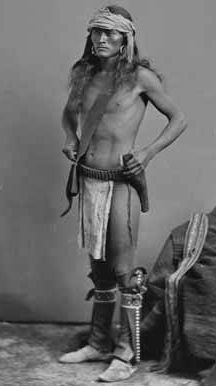 One of Gullfoyle's Navajo scouts 1883