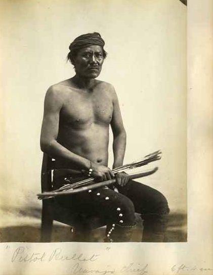 Navajo Chief Manuelito(Pistol Bullet)