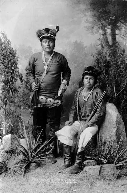 Atta Kai Bi Tzu Ih Amp Charlie Navajo Indians Of Arizona