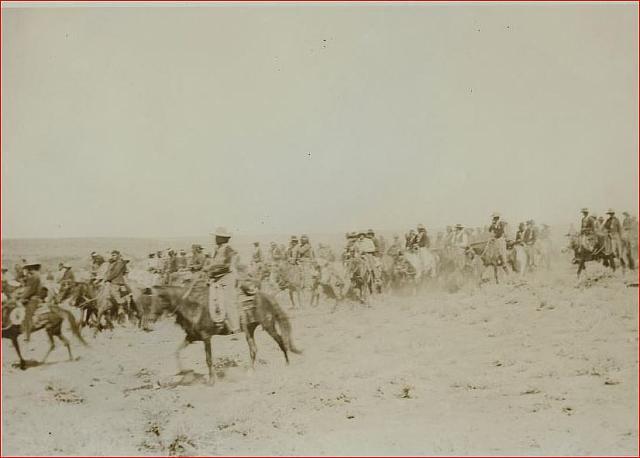 Navajo hunting party