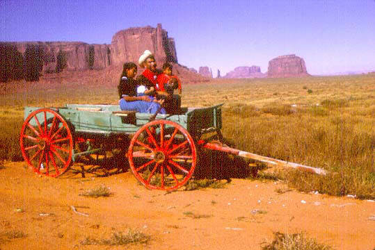 Tinker Tony Yazzie Family Monument Valley