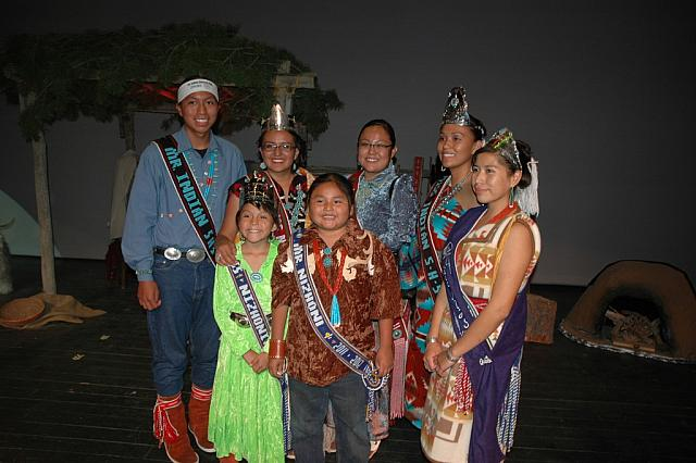 Royalty at Miss Northern Navajo Pageant