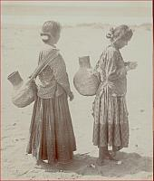 Navajo girls going for water c. 1900
