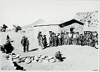 Chapter House built by Navajos. [ca. 1905]