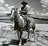 Navajo at Dinnebito Trading Post near Oraibe, Arizona, 1970
