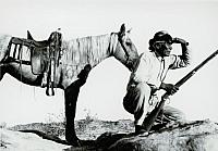 Navajo Hunter looking for Game