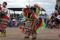 Navajo Boy at Pow Wow Competition