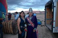 Miss Navajo Nation 2011-2012 Crystalyne Curley with Mother