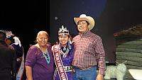Miss Northern Navajo and Parents 2011