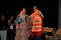Miss Northern Navajo and President Shelly