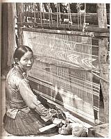 Daisy Taugelchee, World's most famous Navajo Rug Weaver