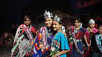 Royalty at Miss Northern Navajo Pageant 7