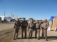 Navajo Cops at Shiprock Fair