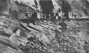 INSCRIPTION HOUSE - photograph by William B. Douglas - 1903