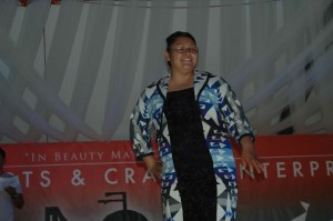 Natasha Hardy Evening Gown Fashion Show