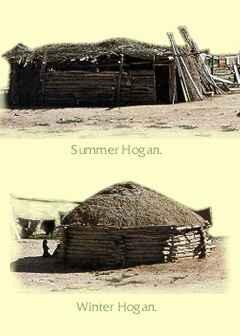 Navajo Homes Hogan