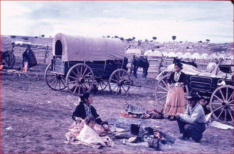 Navajo's at Window Rock Fair Camp