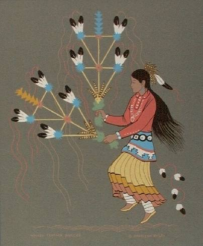 navajo arts and crafts navajo feather dancer 5024